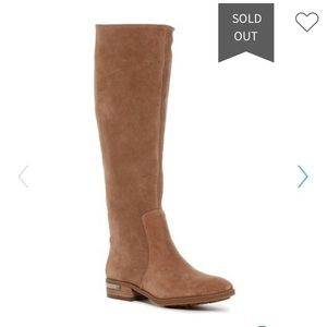 Vince Camuto tall studded back riding boot, 9.5M